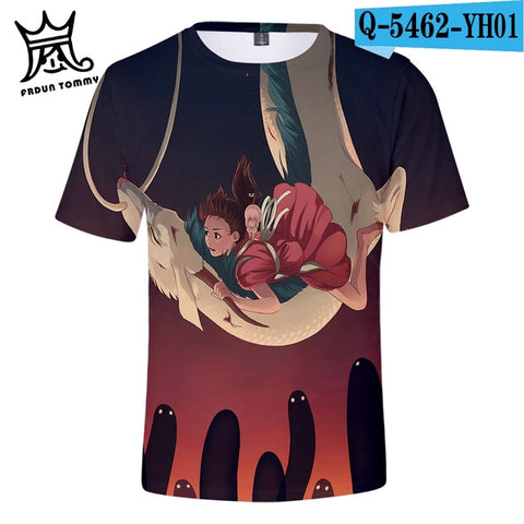 Haku Spirited Away Harajuku Tshirt