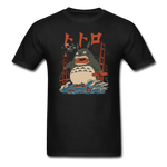 Totoro Kaiju Ghibli Gildan Ultra Cotton Adult T-Shirt - black