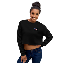 "Load image into Gallery viewer, The ""United"" Crop Sweatshirt (3 colors)"