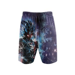 Dragon Ball Goku God Form - Shorts