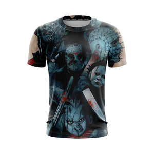 Blue Nightmare - T-Shirt