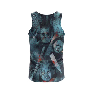 Blue Nightmare - Tank Top