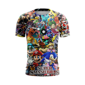 Super Smash Brawl - T-Shirt