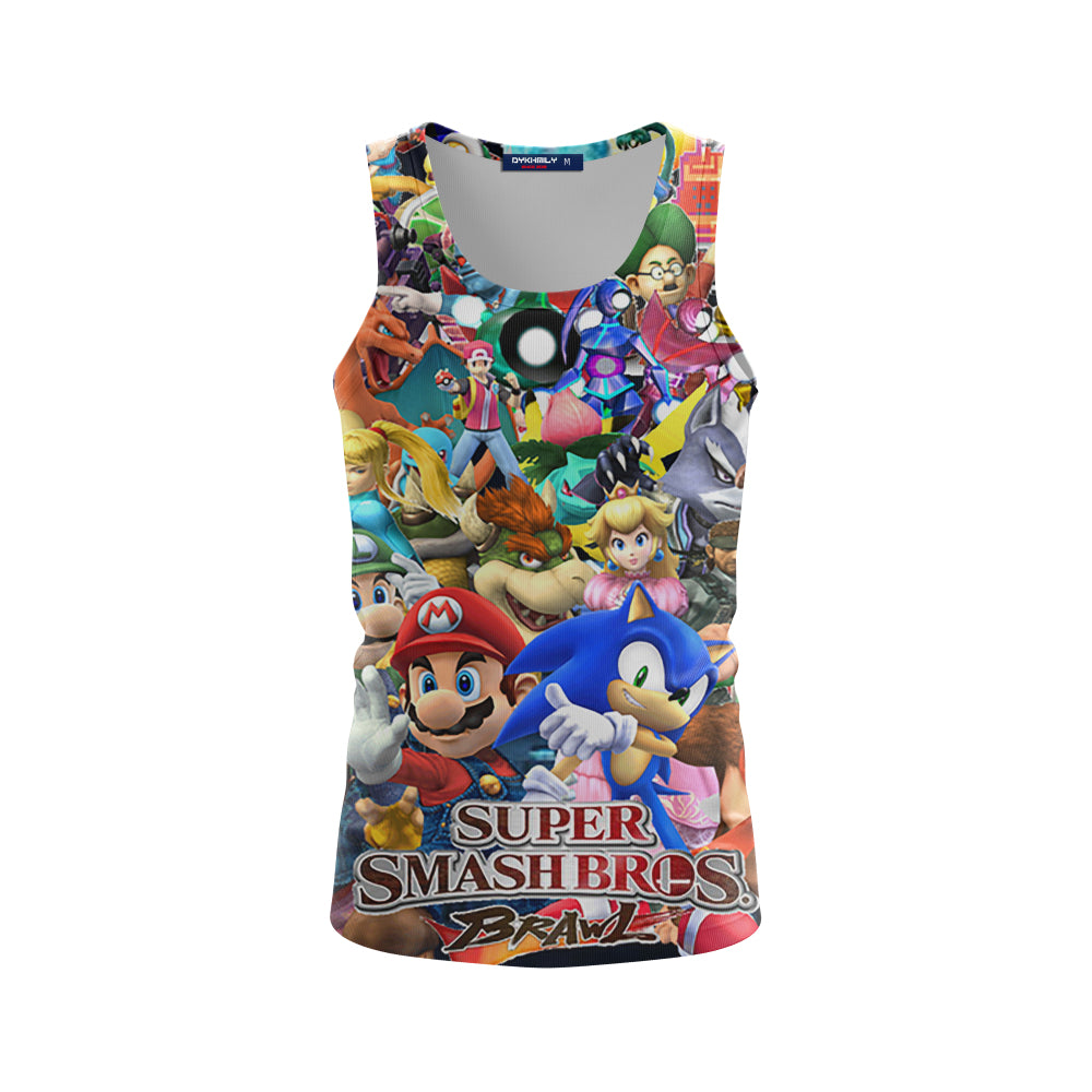 Super Smash Brawl - Tank Top