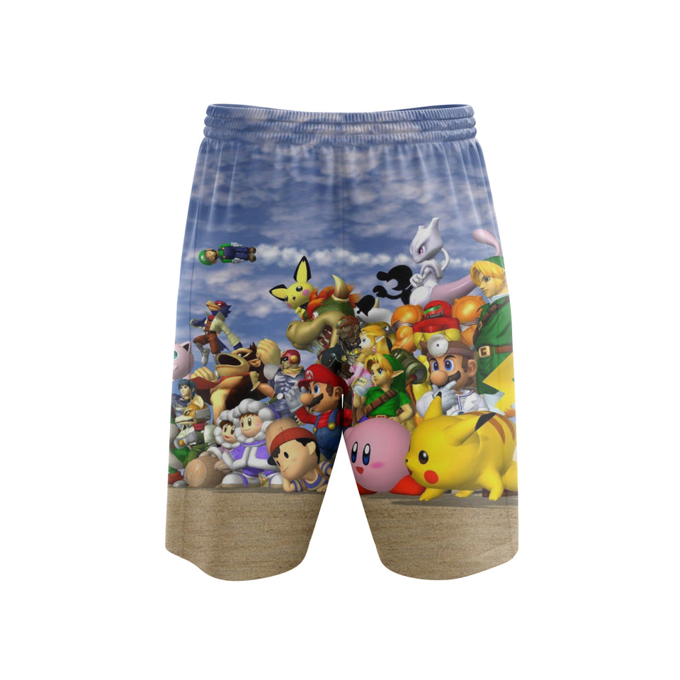 Super Smash Melee - Shorts