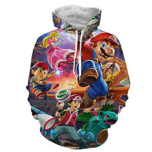 Mario Smash Showdown - Hoodie