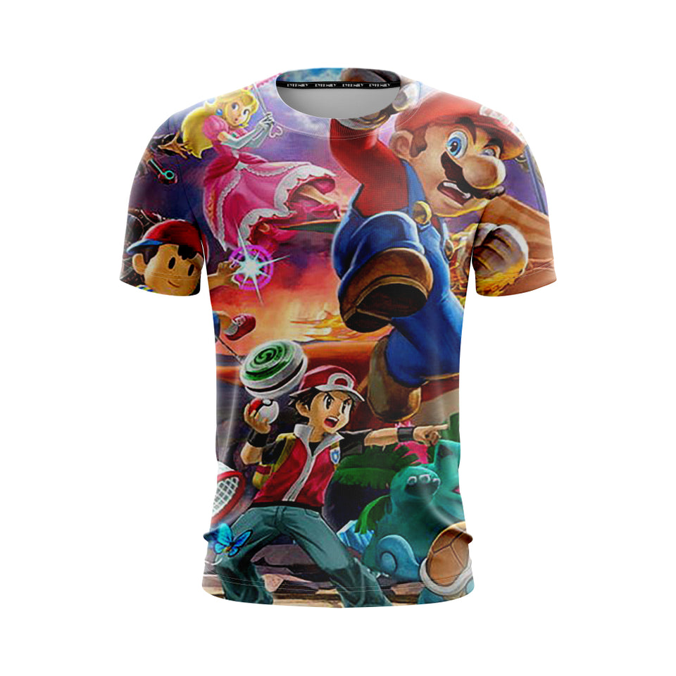 Mario Smash Showdown - T-Shirt