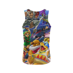 Mario Smash Showdown - Tank Top