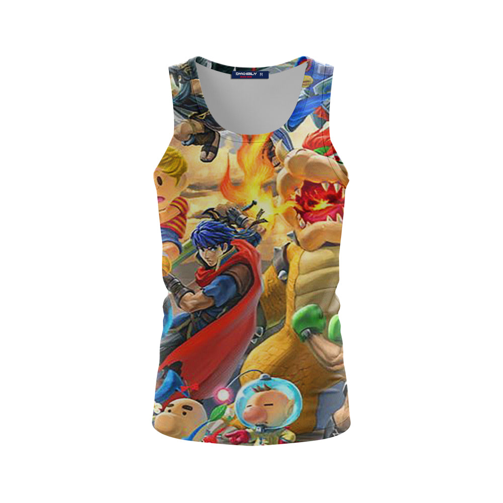 Bowser Smash Showdown - Tank Top