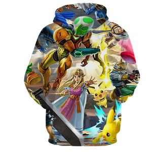 Bowser Smash Showdown - Hoodie