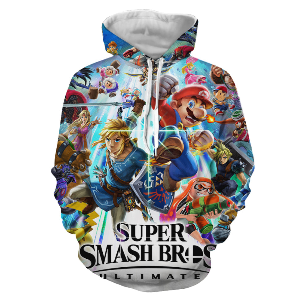 Super Smash Ultimate - Hoodie