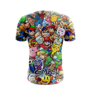 Masters Of Smash - T-Shirt