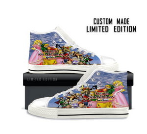 Super Smash Bros. Melee Logo - Shoes