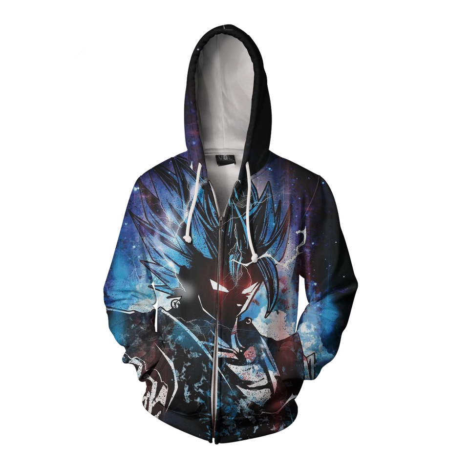 Dragon Ball Goku God Form - Hoodie