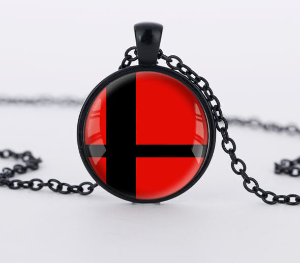 Super Smash Bros. Glass - Necklace