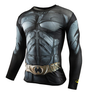 Bat Suit - Compression Long Sleeve