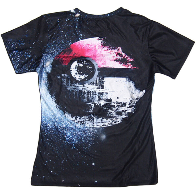 Pokeball Death Star - T-Shirt