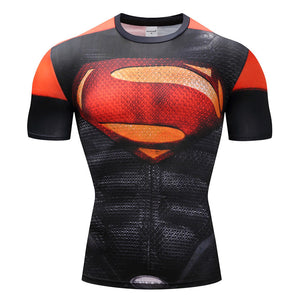Red Superman - Compression T-Shirt