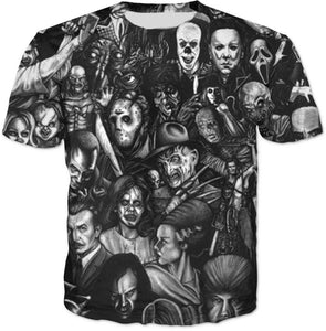 Horror Movie Legends - T-Shirt