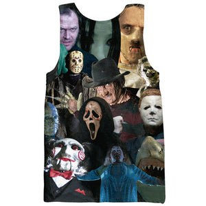 Horror Movie Killers - Tank Top