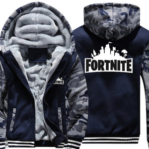 Fortnite Urban Camo - Zippered Hoodie