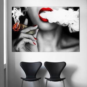 Money To Blow - Canvas Art