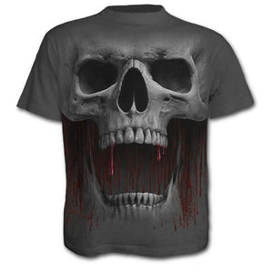 Skull Blood 3D - T-Shirt