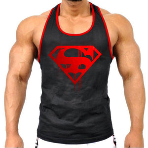 Vintage Blood Superman - Tank Top