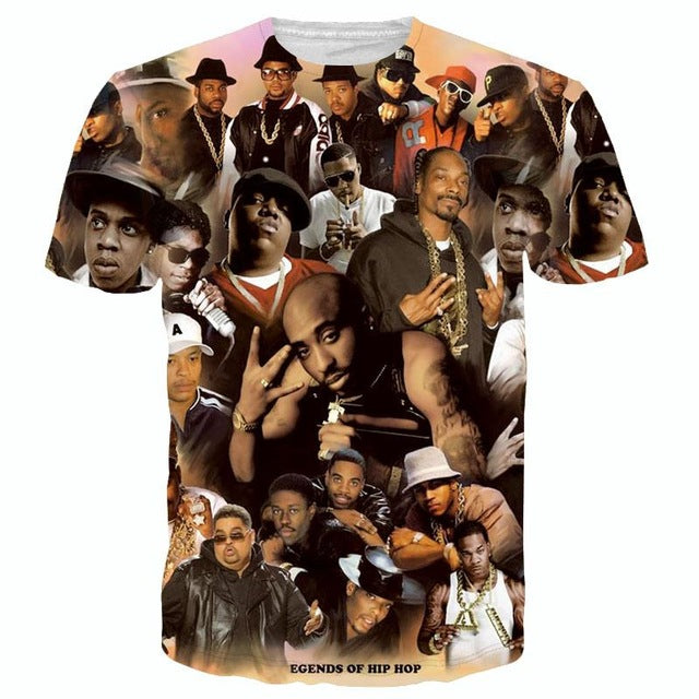 Legends Of Hip Hop - T-Shirt