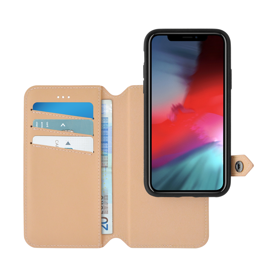 2 in 1 Wallet & Case for iPhone Xr