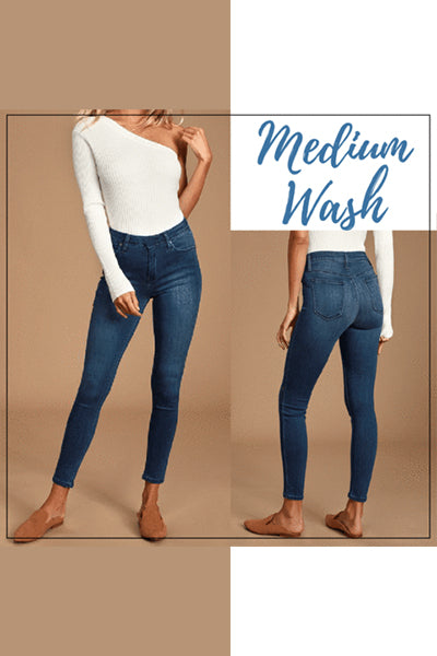 【Buy 2 Get 1 Free!】Perfect Fit Jeans Leggings - BestLittleThing