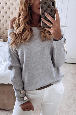 Solid Off The Shoulder Top(3 Colors) - BestLittleThing