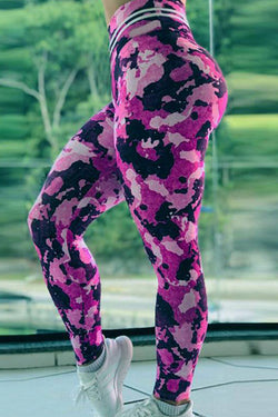 ❤️ONLY $19.99❤️High Waist Push Up Camouflage Printed Leggings - BestLittleThing