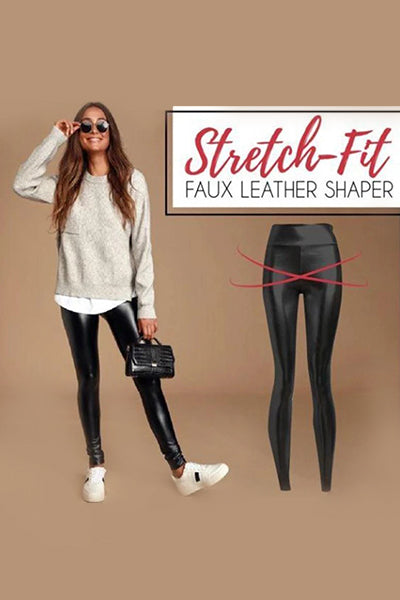 【50% OFF TODAY】Stretch-Fit Faux Leather Shaper - BestLittleThing