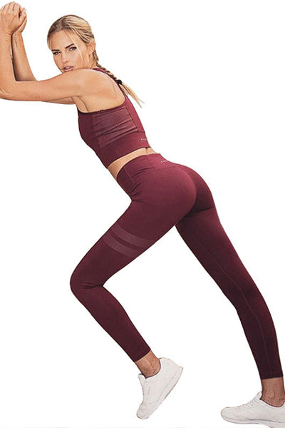 ❤️LAST DAY 50% OFF❤️Pure Color High Waist Hip Leggings - BestLittleThing