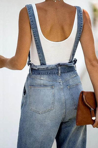 Romper Women Jumpsuits High Waist Jeans - BestLittleThing