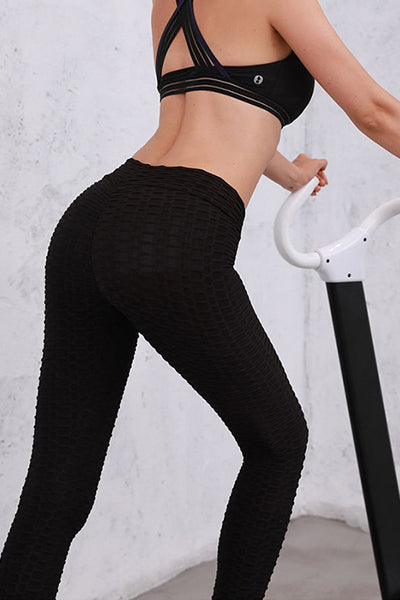 Anti-Cellulite Compression High Waist Slim Leggings[50% OFF] - BestLittleThing