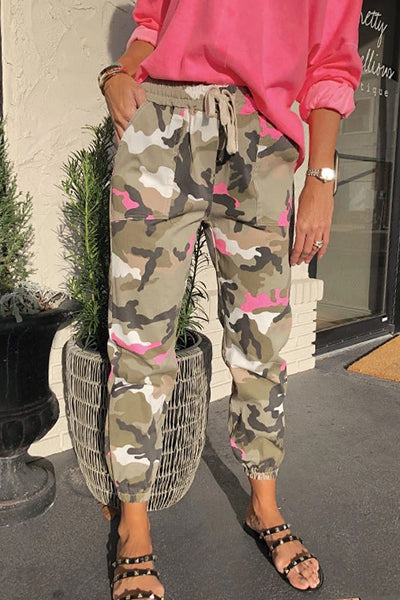 【Buy 2 Get Extra 10% OFF】Splesy Neon Camo Joggers - BestLittleThing