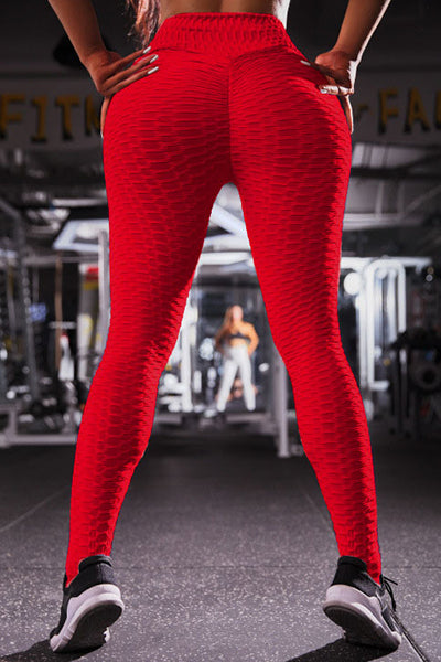 Anti-Cellulite Compression High Waist Slim Leggings[50% OFF]
