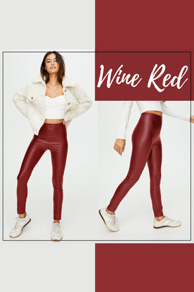 【ONLY $16.97!】Perfect Fit Leather Leggings - BestLittleThing