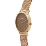 ALEXANDRA Mesh Rose Gold Brown/Rose Gold