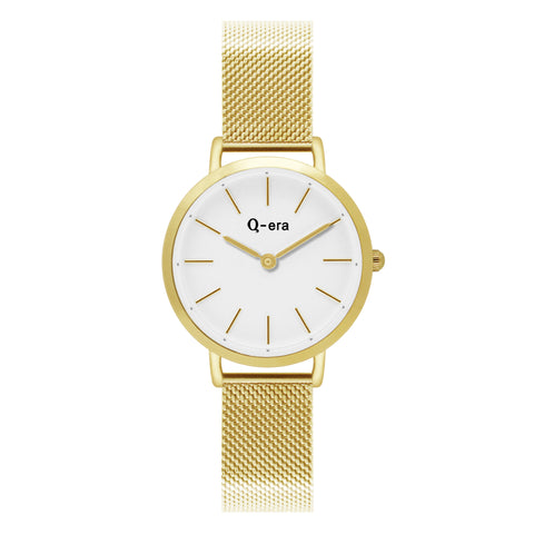 Sisi Petite Mesh Gold White Matt/Gold
