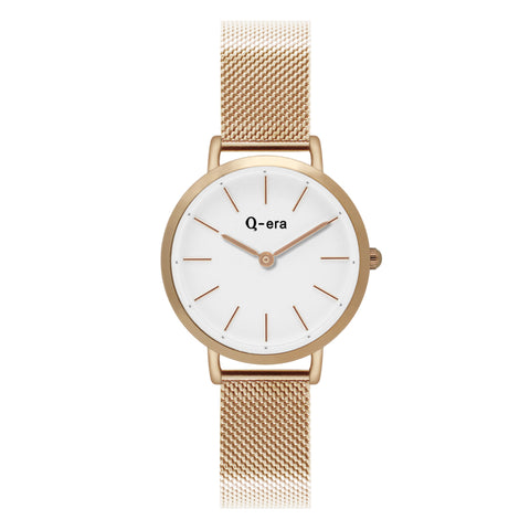 Sisi Petite Mesh Rose Gold White Matt/Rose Gold