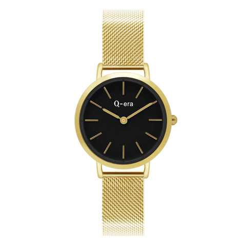 Sisi Petite Mesh Gold Black Matt/Gold