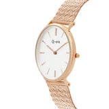 VICTORIA THE GREATEST Heart Mesh Rose Gold White/Rose Gold