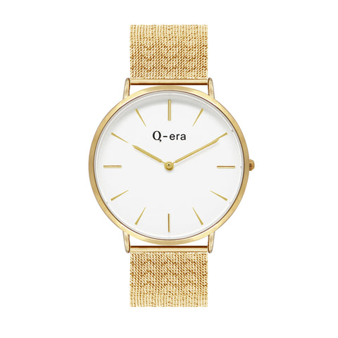 VICTORIA THE GREATEST Heart Mesh Gold White/Gold