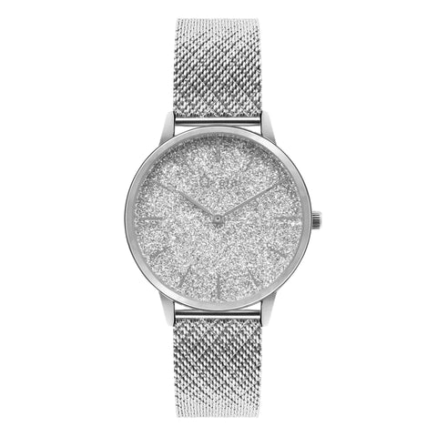 CATHERINE Diamond Mesh Silver
