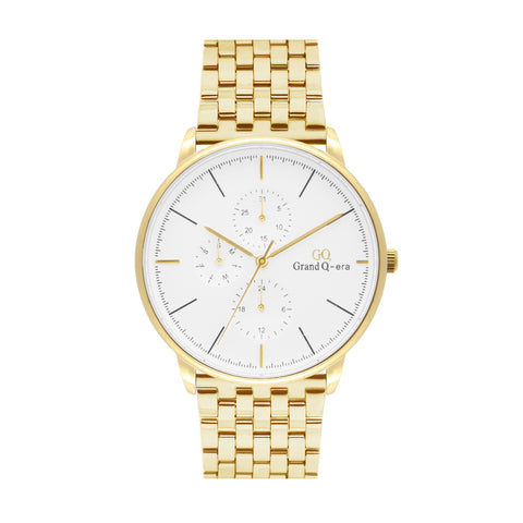 ELIZABETH Steel Gold White/Gold