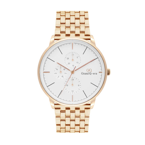 ELIZABETH Steel Rose Gold White/Rose Gold