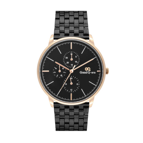 ELIZABETH Steel Rose Gold Black/Black
